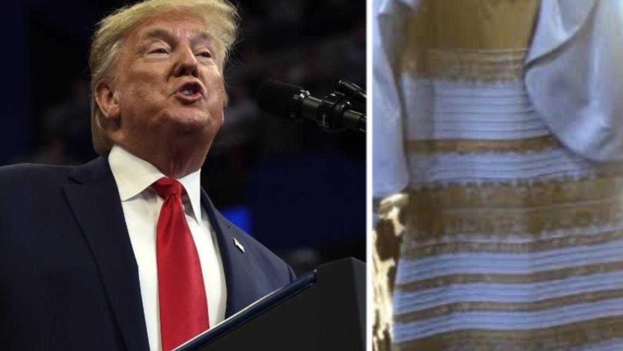 Put Trump and the white/gold/black/blue dress at the top of your list of subjects worth fighting over.