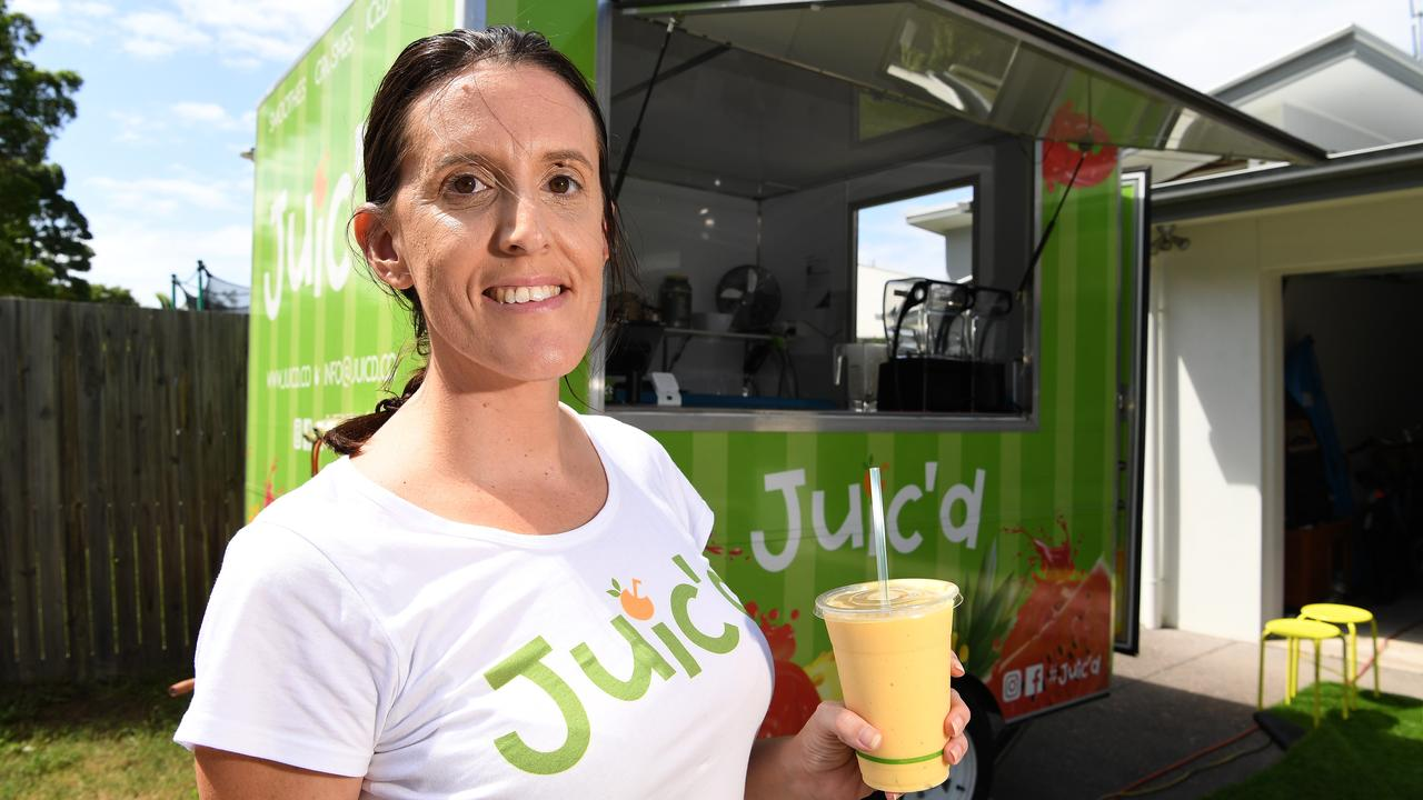 FRESH: Carla Crawford is ready to share her passion for fresh smoothies with the Sunshine Coast.