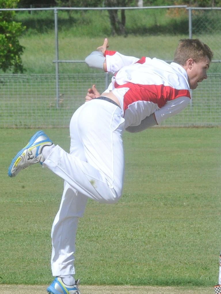 Jared Barber starred with season best figures of 4 for 17 off 8 overs in Iluka's win over Harwood in the Lower Clarence Cricket Association Maclean Bowling Club First Grade preliminary final at Barry Watts Oval in Maclean on Saturday, 14th March, 2020.