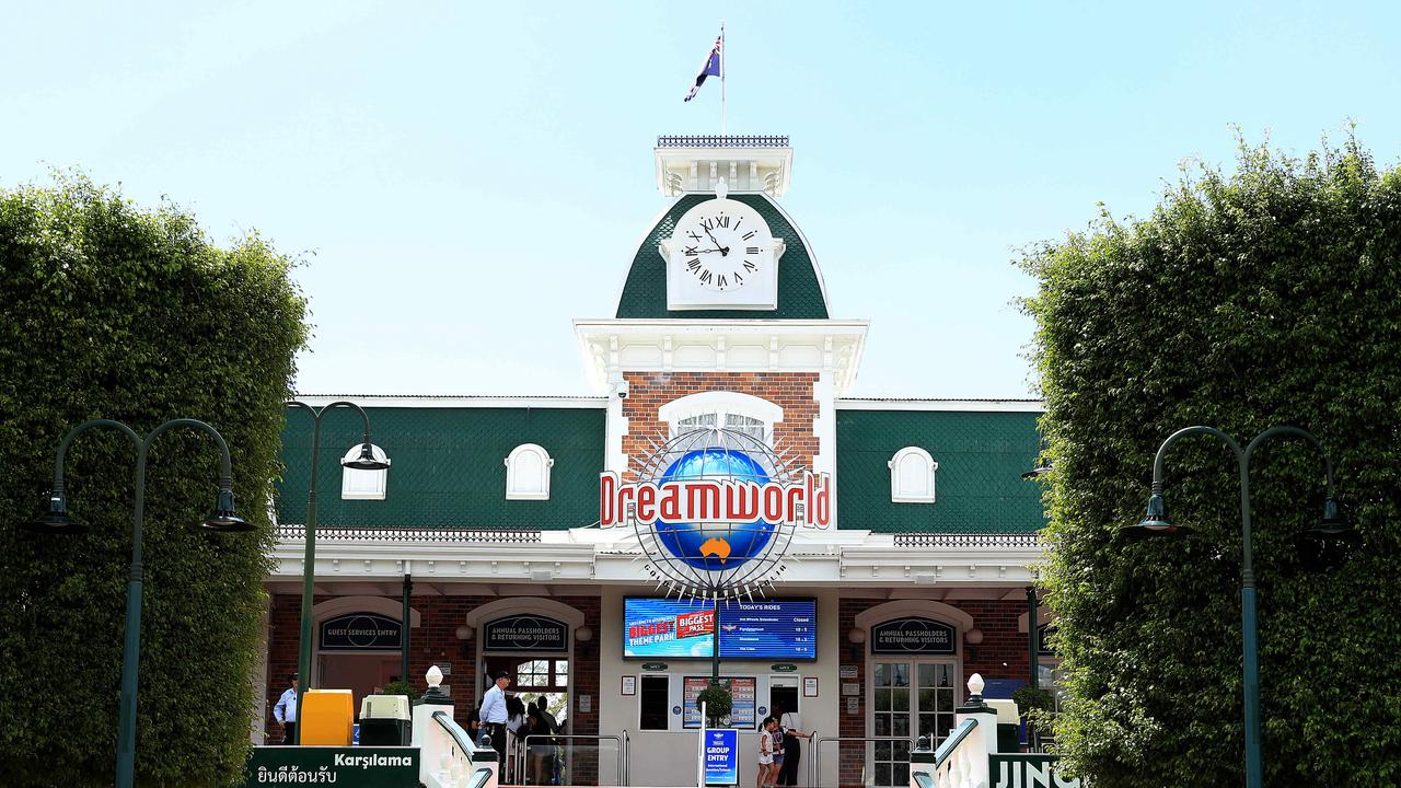 Shares in Dreamworld owner Ardent Leisure lost almost half their value today. Pics Adam Head