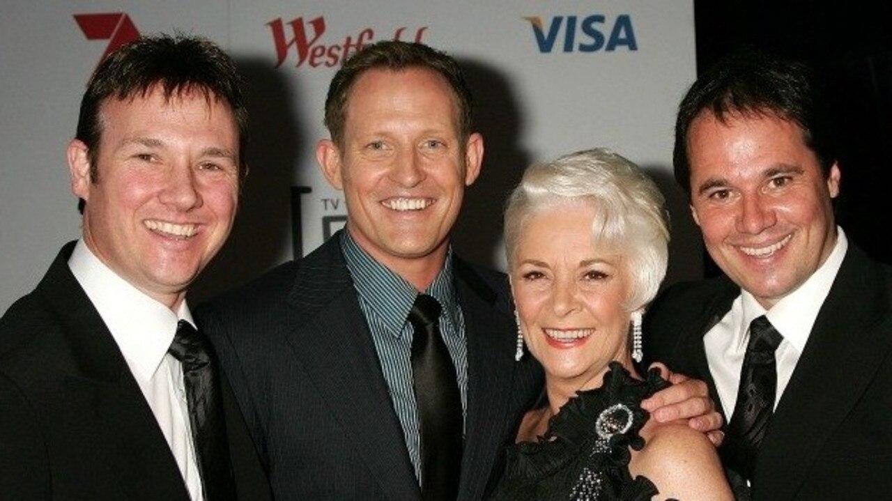 Original Dancing with the Stars judges Mark Wilson, Todd McKenney, Helen Richey and Paul Mercurio.