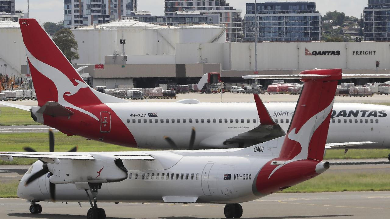 Qantas Cuts International Flights As Travel Demand Falls Amid Coronavirus Outbreak