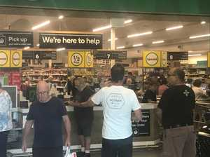 Police patrol supermarkets to protect elderly shoppers