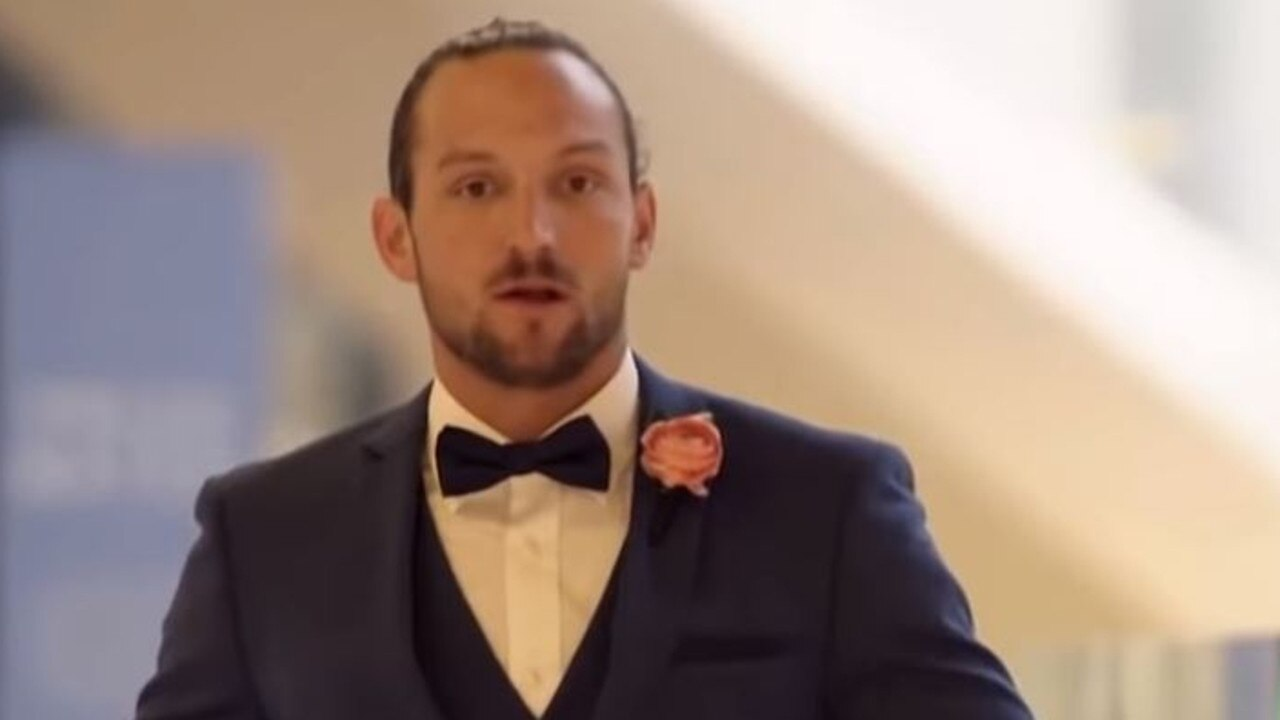 Jonethen Musulin on Nine's Married At First Sight.
