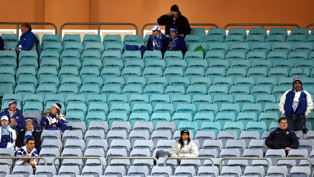 The NRL is considering pumping in crowd noise. Picture by Gregg Porteous.