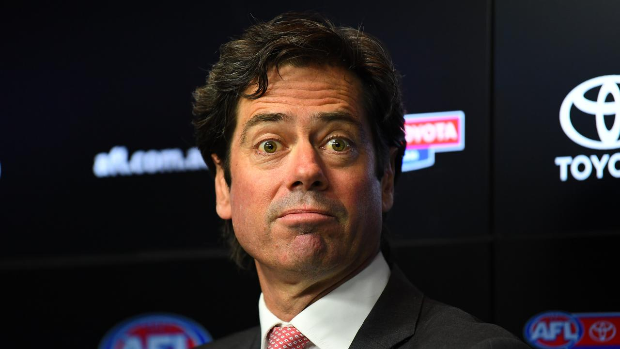 The AFL have had push back from players.