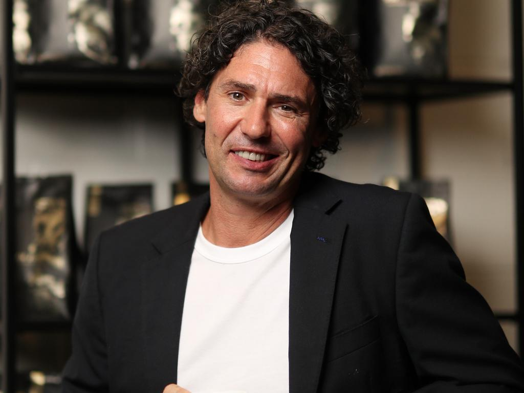The celebrity chef said his business has already taken a hit as customers stay away amid virus fears but he hopes there will be a way to stay afloat. Pic Peter Wallis