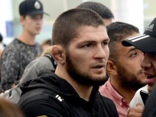 UFC world champion Khabib Nurmagomedov. Photo Jeremy Piper