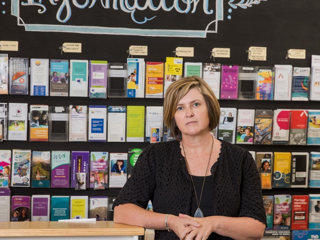 Women's Legal Service Queensland CEO Angela Lynch