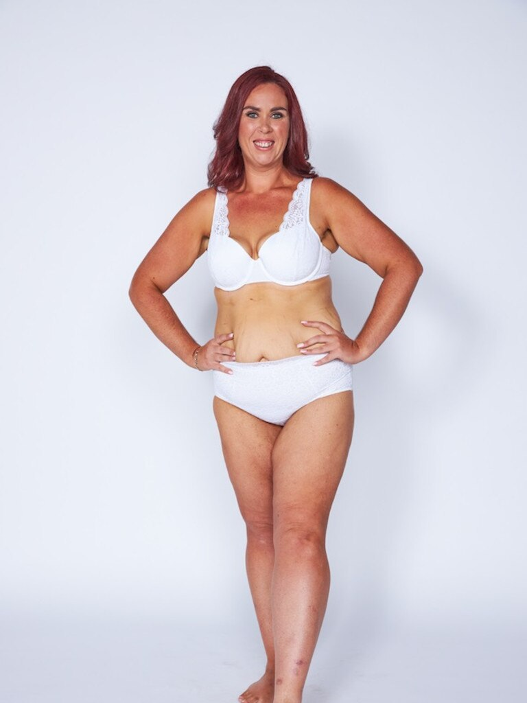 Chelsea Dixon after her amazing transformation, losing 55kgs.