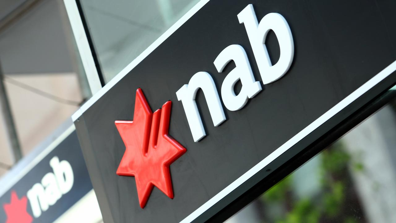 14/11/2018: Generic picture of National Australia Bank (nab) branch and logo. Hollie Adams/The Australian