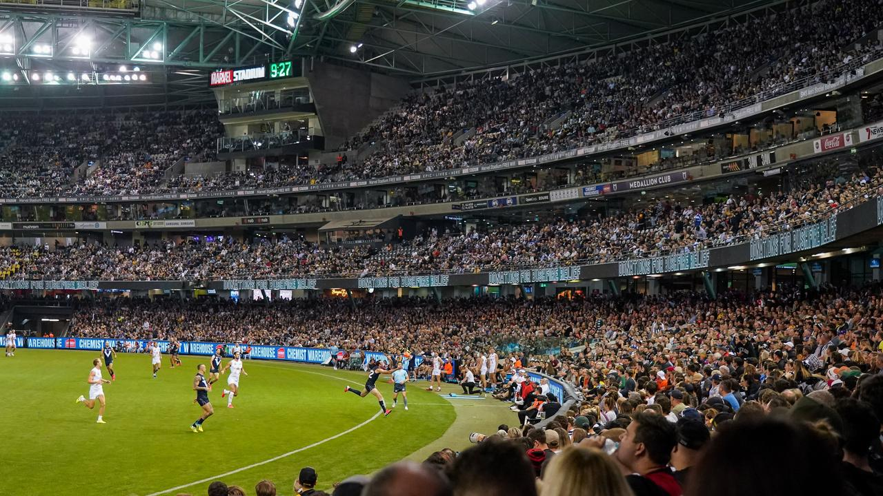 The AFL Grand Final could be played at Marvel Stadium this year.