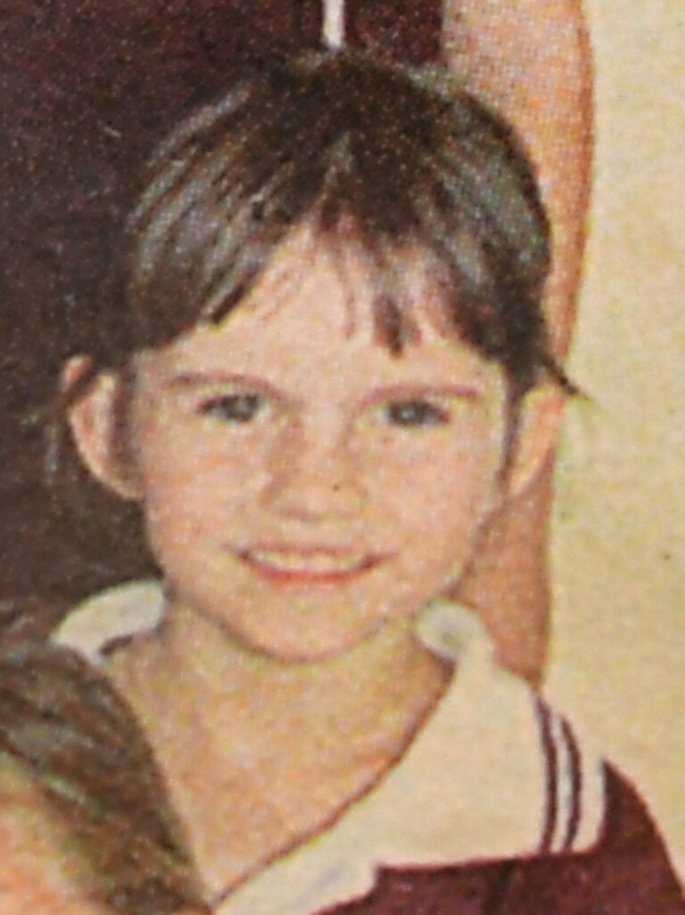 The Queensland Times journalist Paige Ashby in grade 1 at Bundamba State Primary School.