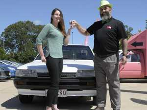 Car donation life-changing for Toowoomba girl