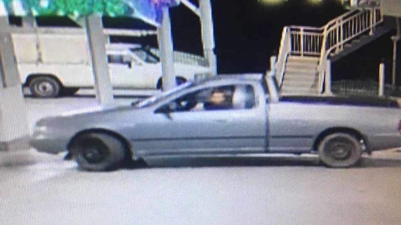 The car belonging to Nathan Caulfield, who police are searching for as a person of interest in the murder of a 22-year-old man at Amamoor. Photo: Police media