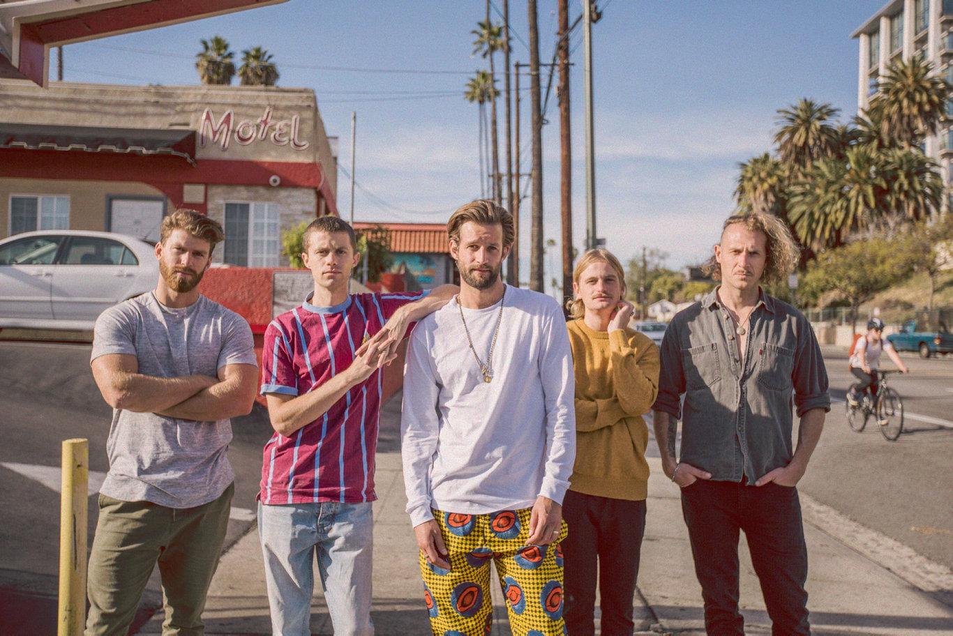 Five-piece alternative rock band The Rubens will visit Mackay during their Australian tour. PICTURE: Ali Lander-Shindler