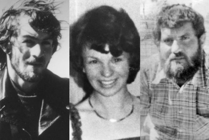 Gordon Twaddle, Karen Edwards and Timothy Thomson were killed.