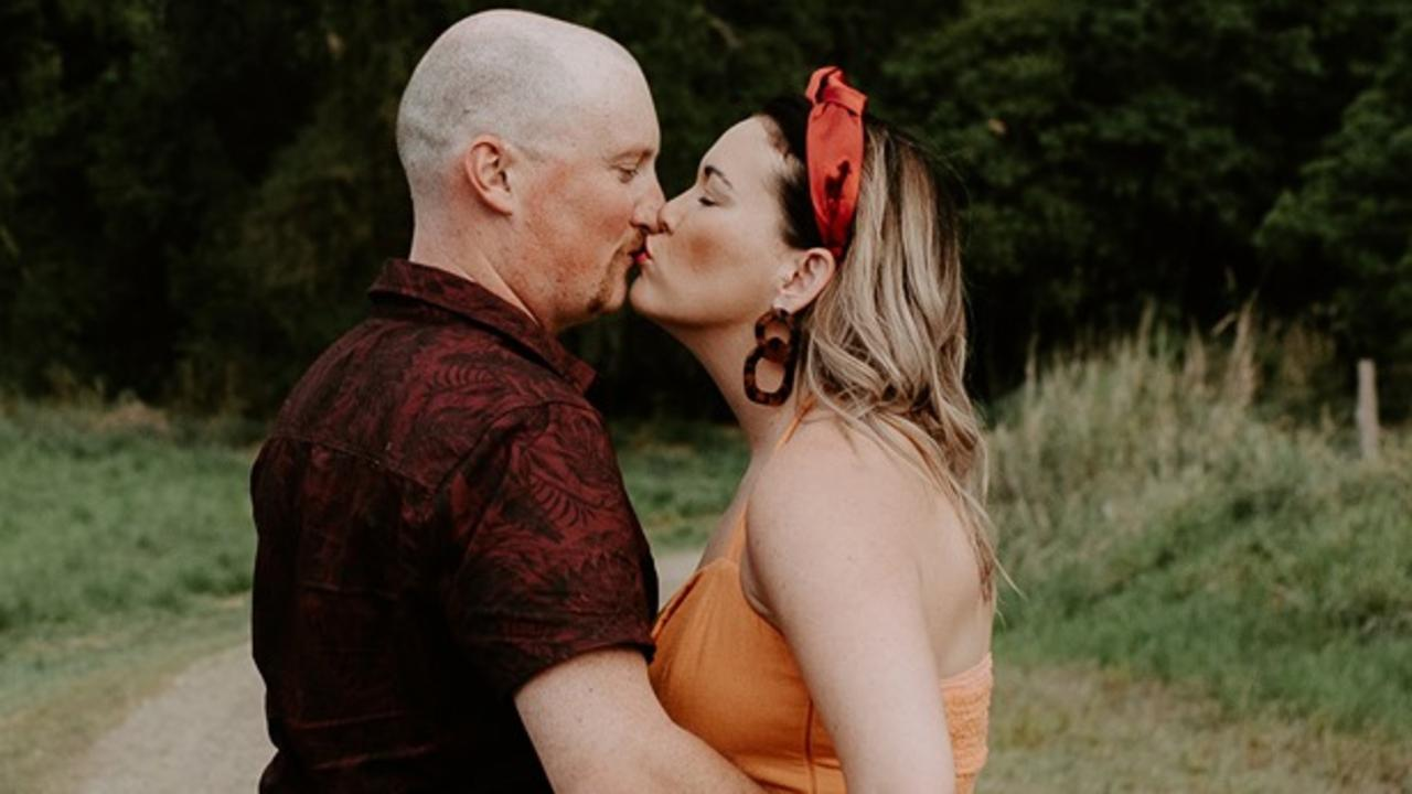 Sarah Reeves-Saunders and Jarrid Brown have had to postpone their April wedding due to coronavirus. Picture: Candice Van Moolenbroek.