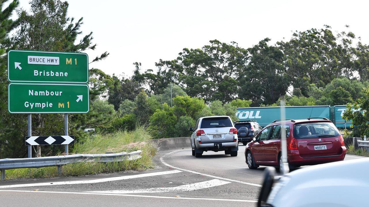 The Maroochydore Rd/Bruce Highway interchange. Photo: Patrick Woods / Sunshine Coast Daily.