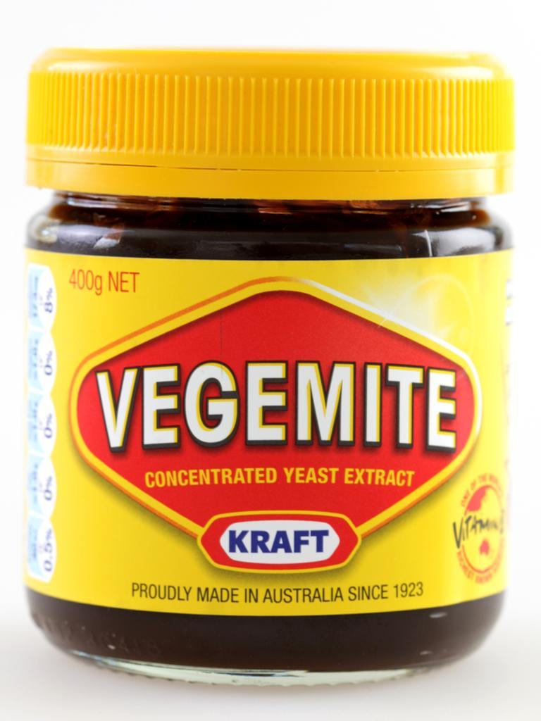 Senator Susan McDonald has a jar of Vegemite and a carton of beer in the fridge.