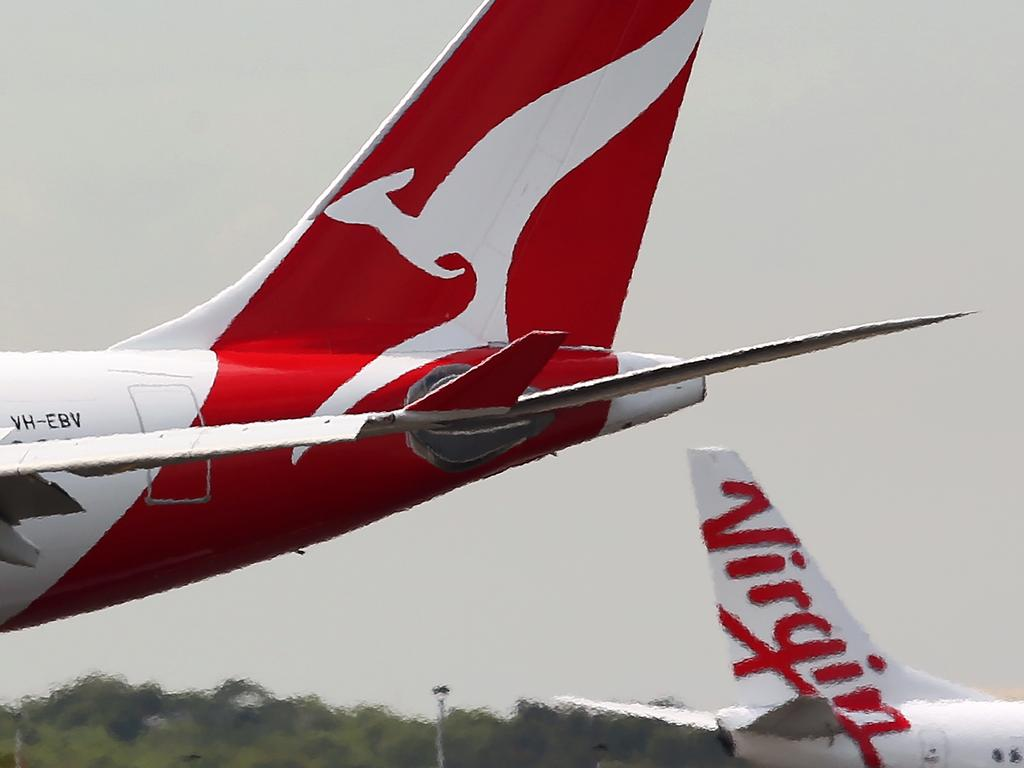 The past few weeks have been tough for Australia's airline industry and it's only going to get worse as Covid-19 bites. Picture: Bloomberg