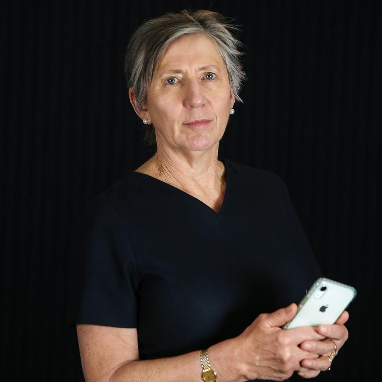 Telecommunications Industry Ombudsman Judi Jones. Picture: Ian Currie