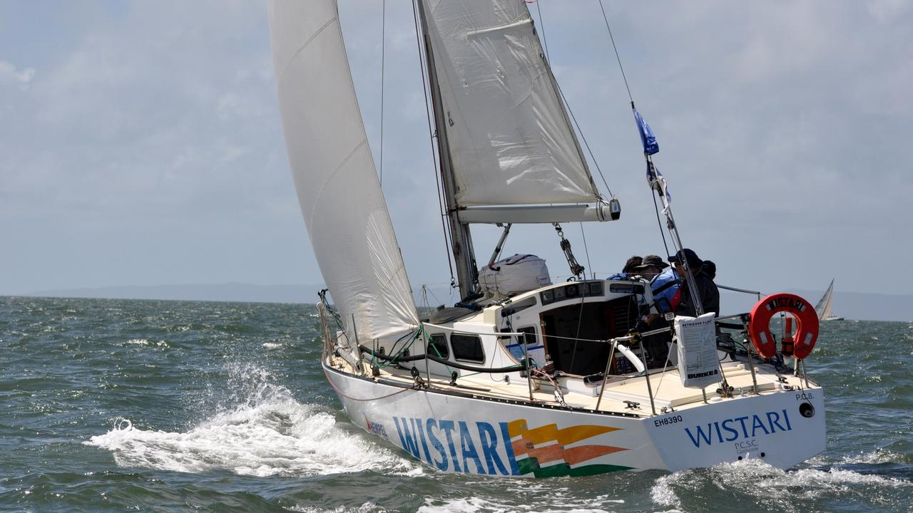 Gladstone's Wistari was due to set a record for most Brisbane to Gladstone Yacht Races this year, but will have to wait until 2021. Picture: Shoebox Images