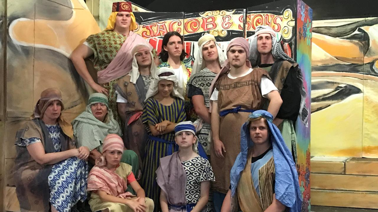 The brothers from the Criterion Theatre cast of Joseph and the Amazing Technicolor Dreamcoat which has been postponed from March 26-April 5 to Nov 26 - Dec 6 due to coronavirus precautions.