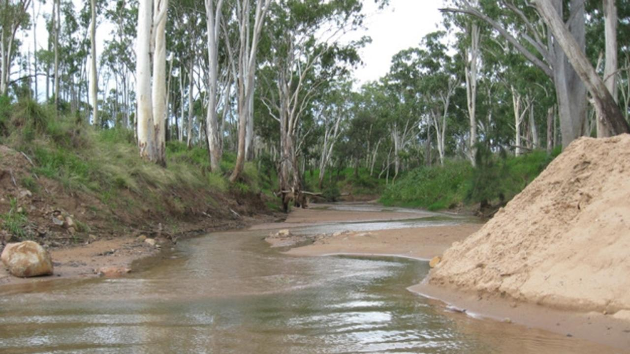 """The Suttor River. The Environmental Defenders Office claims Adani """"plans to suck up to 12.5 billion litres of water annually"""" from the river. Picture: Christine Carlisle"""