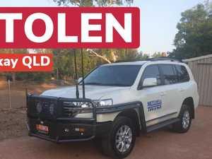Mackay car theft results in NQ head-on crash