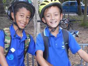 National Ride2School Day a wheel success