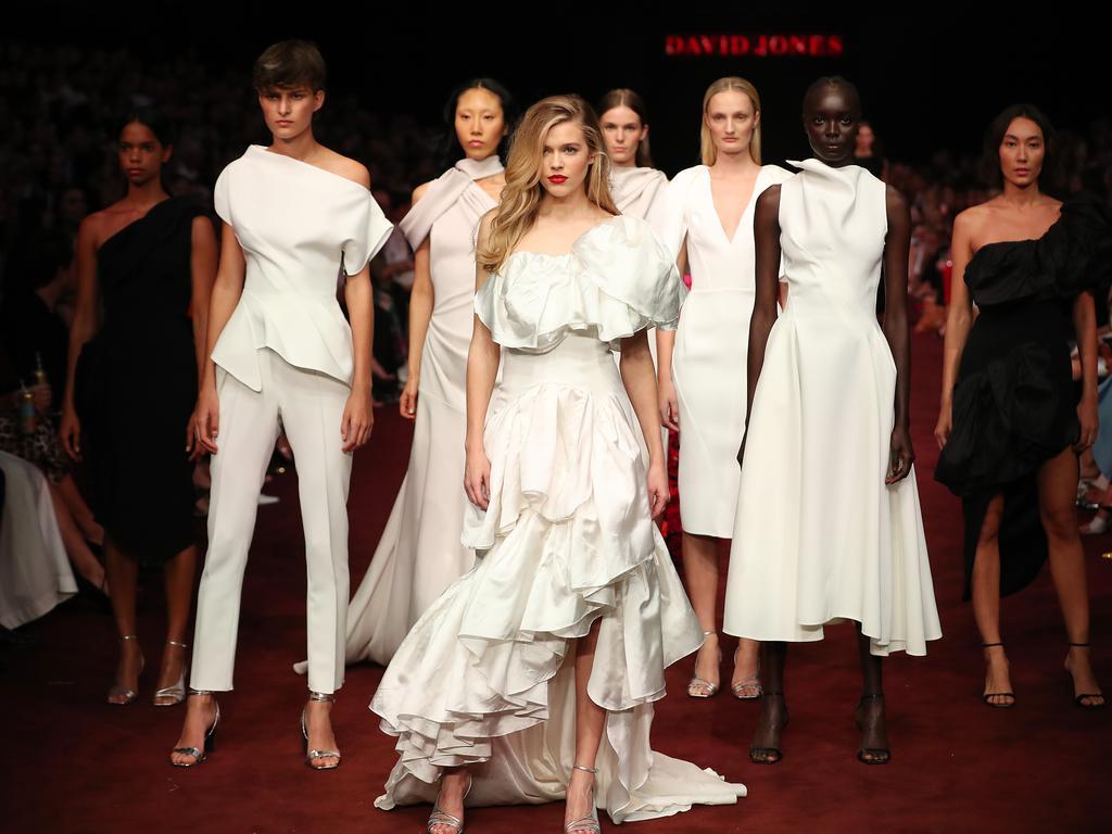 David Jones held its autumn/winter season launch at Virgin Australia Melbourne Fashion Festival last week. Picture: Getty Images