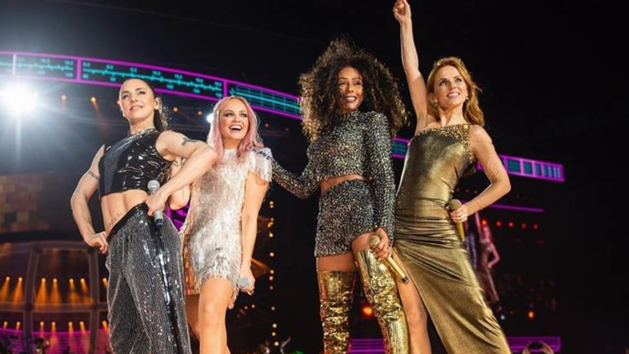 The Spice Girls wrapped their reunion tour in June last year. Picture: Instagram/timmsy