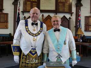 Master makes lodge debut after nearly 50 year journey
