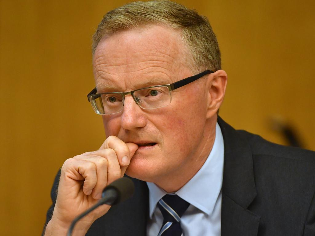 Reserve Bank of Australia Governor Philip Lowe. Picture: AAP