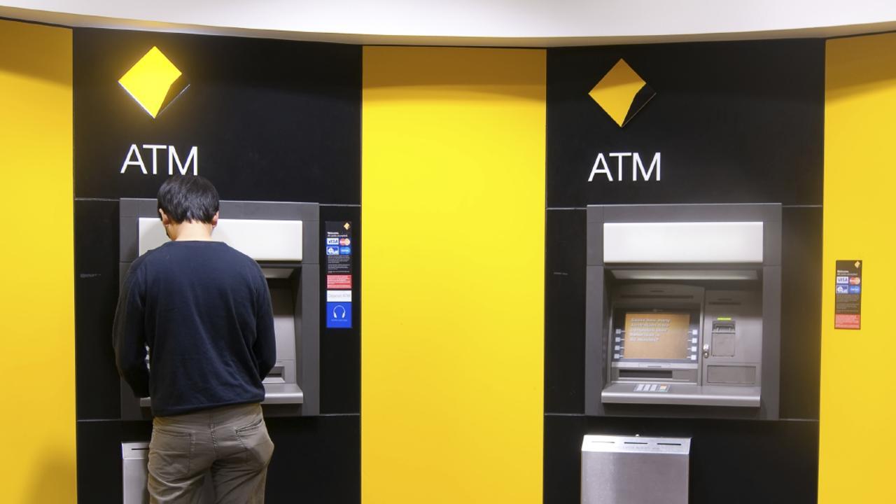 Supplied Money australian banks generic, withdrawal, westpac, nab, anz, commonwealth