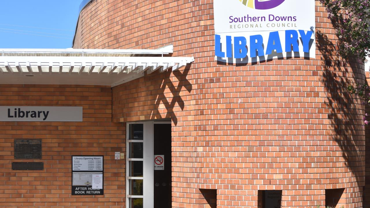 The Southern Downs Regional Council has closed their library.