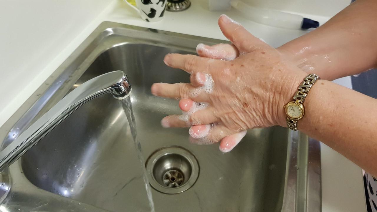 PLAY IT SAFE: Hand washing must be frequent and thorough to prevent the spread of the disease.