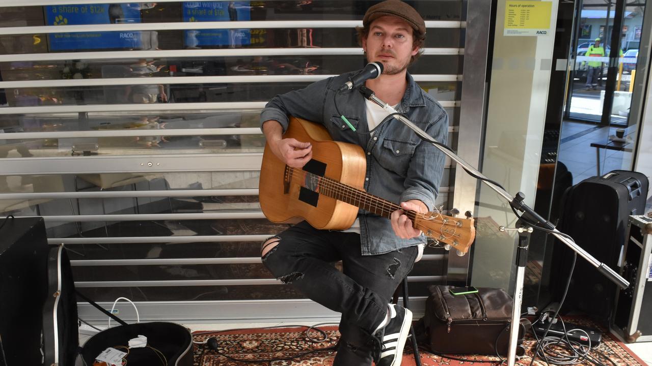 Noosa singer-songwriter Ryan Giles is playing Eumundi this weekend.