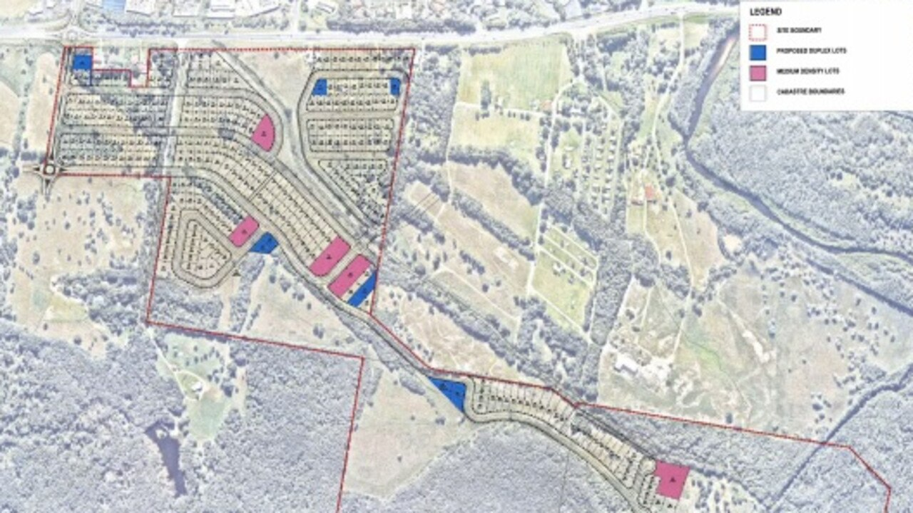 A revised West Byron housing development proposal has been lodged with Byron Shire Council.