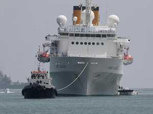 Stranded on cruise ship, charging towards coronavirus hell