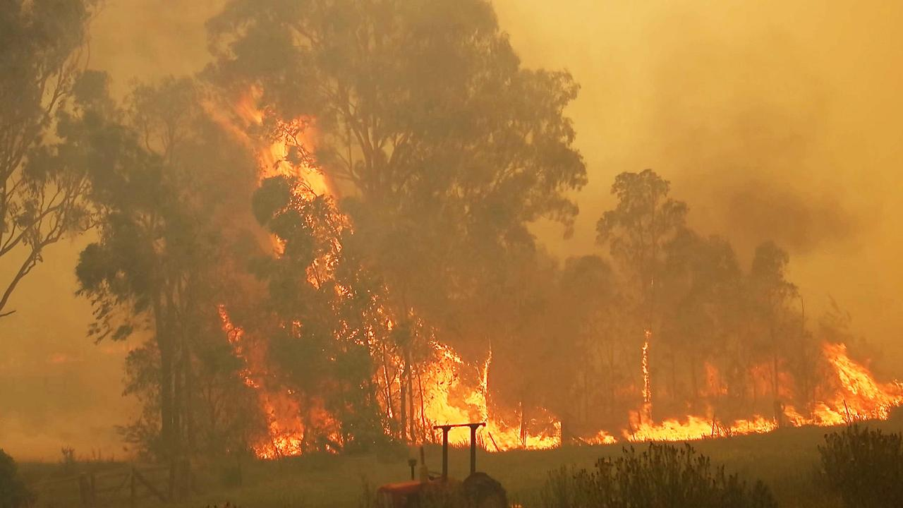 The Liberation Trail bush fire destroyed homes, sheds and other structures at Nana Glen in November last year. Photo Frank Redward