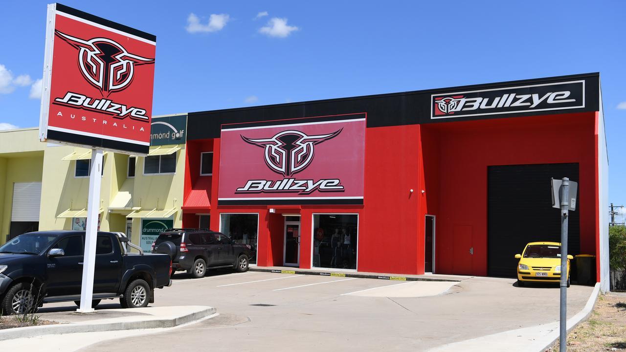 Bullzye store North Rockhampton.