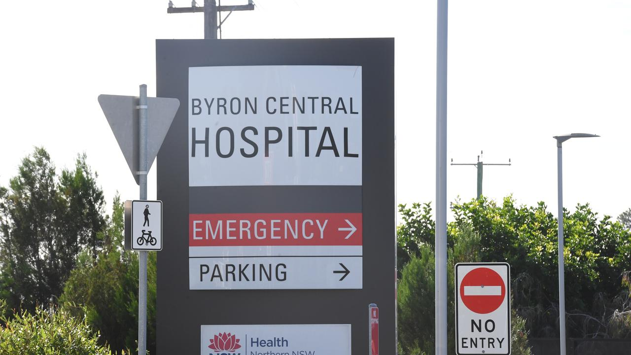 Byron Central Hospital on Ewingsdale Road just off the Pacific Motorway.