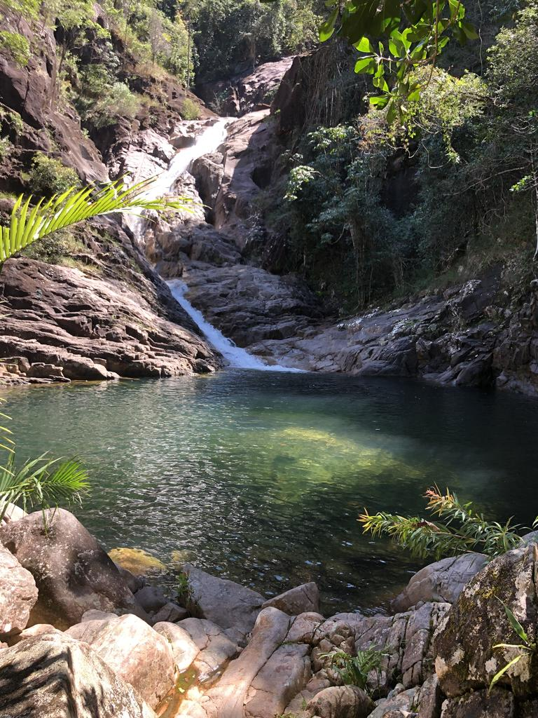 Take advantage of the warmer weather while it lasts by heading out to Finch Hatton Gorge with the family. Picture: Contributed.