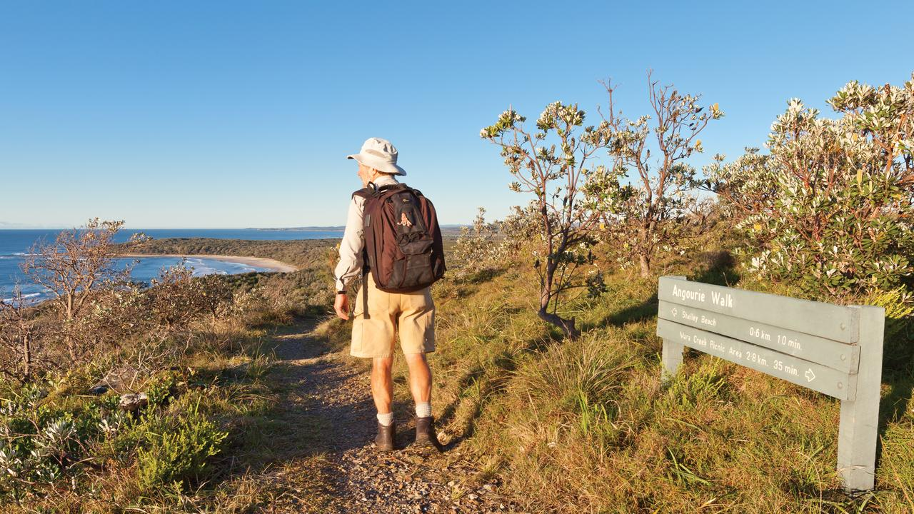 Avoid the stress of a global pandemic by going on the Yuraygir Coastal Walk. Photo: Rob Cleary/Destination NSW