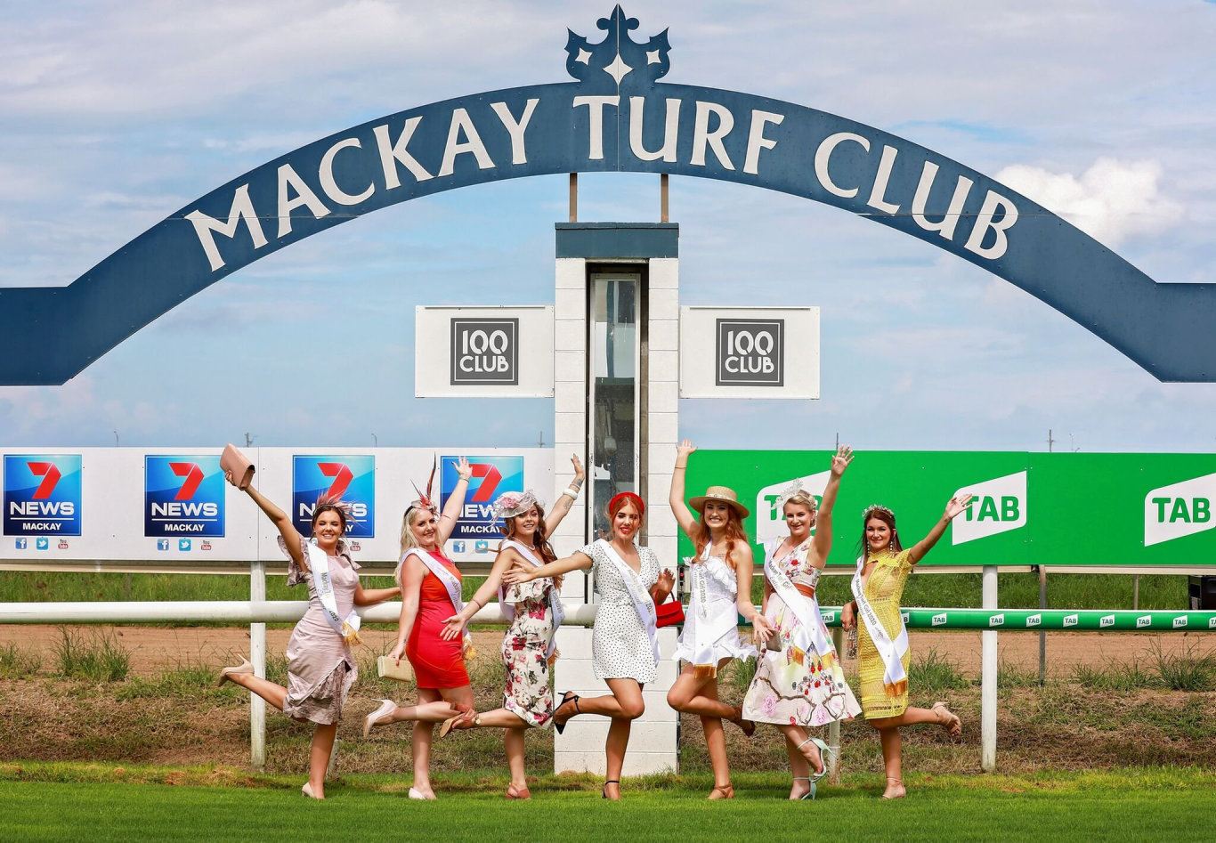The 2020 Mackay Turf Girl nominees.