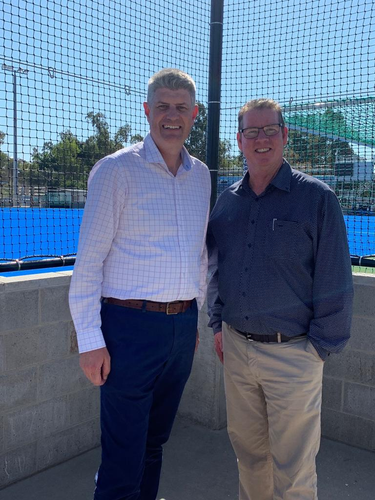 Minister for Local Government Stirling Hinchliffe and Rockhampton MP O'Rourke are continuing to act on expert advice saying it was safe to vote at the local government election.