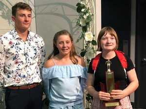 Swimmers clean up at Darling Downs awards night