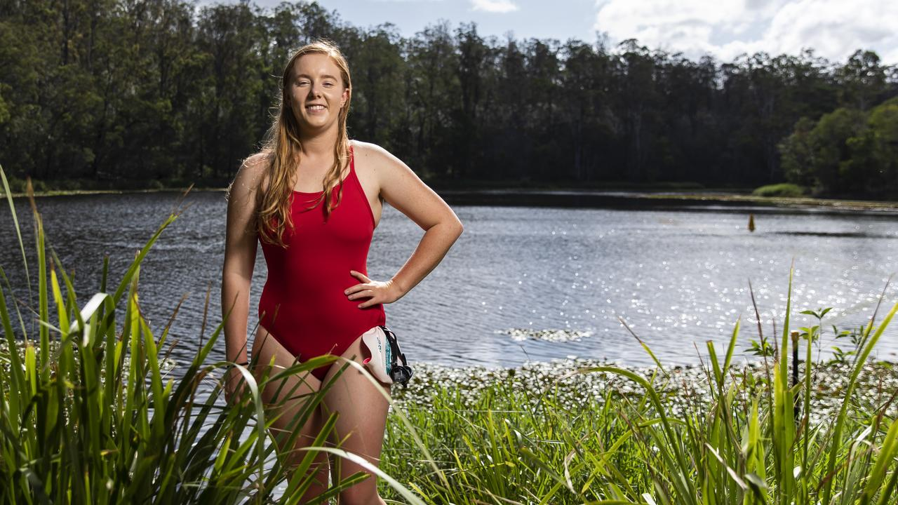 Brianna Thompson conquered the English Channel in her school holidays. Now she's ready to take the plunge into the waters of Scotland's infamous Loch Ness.